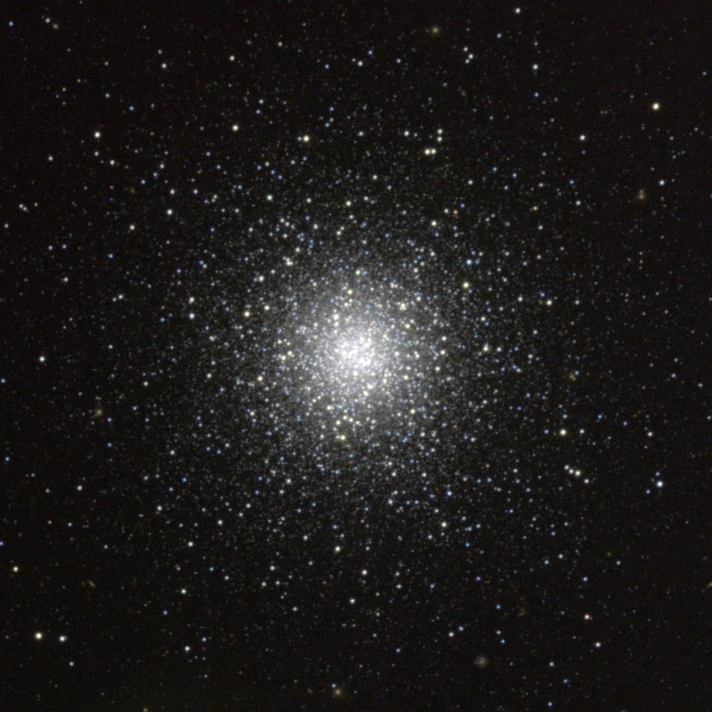 Messier 53 - a Globular Cluster in the constellation Coma ...